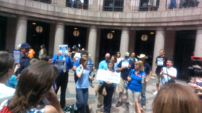 In Texas: Protecting Unborn Life at the Statehouse