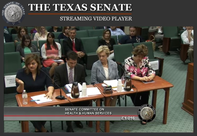 Texas Senate Testimony of #PlannedParenthood Involvement in Aborted Baby Sales