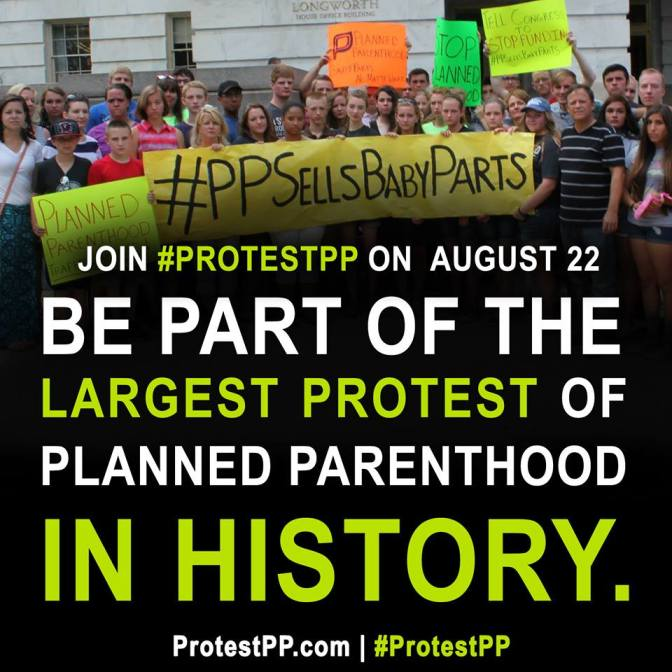#ProtestPP: Finding Your Prolife Voice