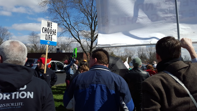 SIDEWALK CHRONICLES: Proaborts Target #40DaysForLife Event – & Lose