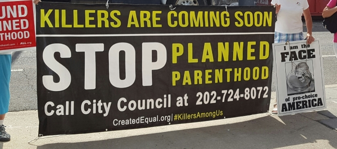 Abortion in DC: Planned Parenthood Nestled Between TWO Public Schools